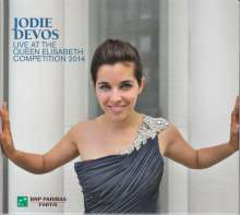 Jodie Devos - Live At The Queen Elisabeth Competition 2014, CD