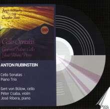 Anton Rubinstein (1829-1894): Sonaten für Cello & Klavier Nr.1 & 2, 2 CDs