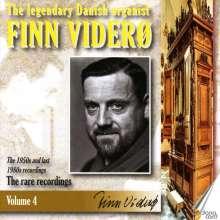 "Anonymus: Finn Videro - The Legendary Danish Organist Vol.4 ""The rare recordings"", 2 CDs"
