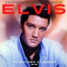 Elvis Presley (1935-1977): 40 Golden Classics (180g), 2 LPs