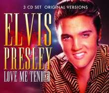 Elvis Presley (1935-1977): Love Me Tender, 3 CDs