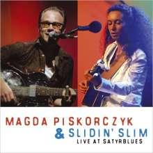 Magda Piskorczyk: Live At Satyrblues, CD