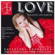 Katarzyna Dondalska - Love (Heaven on Earth), CD