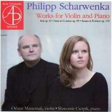 Philipp Scharwenka (1847-1917): Violinsonate op.110, CD