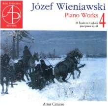 Josef Wieniawski (1837-1912): Klavierwerke Vol.4, CD