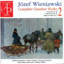 Josef Wieniawski (1837-1912): Kammermusik Vol.2, CD
