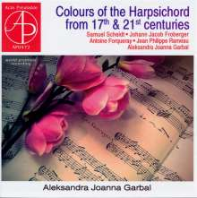 Aleksandra Joanna Garbal - Colours of the Harpsichord from 17th & 21st Centuries, CD