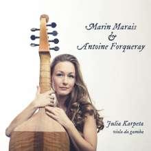 Julia Karpetta - Marin Marais & Antoine Forqueray, CD