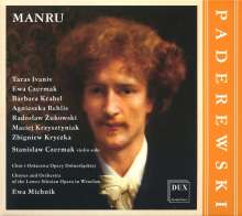 Ignaz Paderewski (1860-1941): Manru, 2 CDs