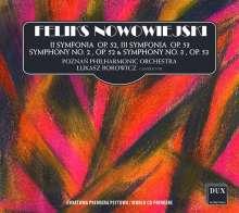 Felix Nowowiejski (1877-1946): Symphonien Nr.2 op.52 & Nr.3 op.53, CD
