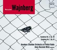 Mieczyslaw Weinberg (1919-1996): Symphonien Nr.2 & 7, CD