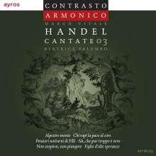 """Georg Friedrich Händel (1685-1759): Kantaten """"Cantate 03"""", CD"""