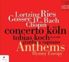 Anthems, CD