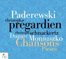 Christoph Pregardien - Chansons Piesni, CD