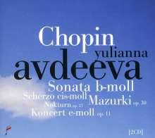 Frederic Chopin (1810-1849): Klavierkonzert Nr.1, 2 CDs