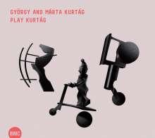 György Kurtag (geb. 1926): Jatekok (Spiele) für Klavier 4-händig (Ausz.), CD