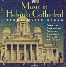 Seppo Murto - Organ Music in Helsinki Cathedral, CD