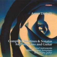 Anton Diabelli (1781-1858): Sonaten für Gitarre & Klavier opp.71 & 102, CD
