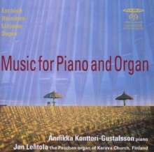 Music for Piano and Organ, CD