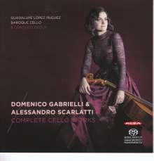 Domenico Gabrielli (1659-1690): Sämtliche Werke für Cello, Super Audio CD