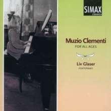 Muzio Clementi (1752-1832): Sonatinen für Klavier, CD