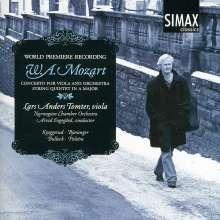 Wolfgang Amadeus Mozart (1756-1791): Klarinettenkonzert KV 622 (arr.für Viola & Orchester), CD