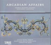 """Georg Friedrich Händel (1685-1759): Kantaten """"Arcadian Affairs"""", CD"""