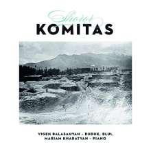 """Komitas (1869-1935): Werke für Duduk & Klavier """"Shoror"""", CD"""