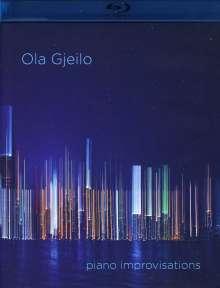 "Ola Gjeilo (geb. 1978): Klavierwerke ""Piano improvisations"", 1 Blu-ray Audio und 1 Super Audio CD"