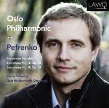 Alexander Scriabin (1872-1915): Symphonie Nr.3 & 4, Super Audio CD