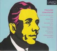 Francis Poulenc (1899-1963): Klavierkonzert, CD