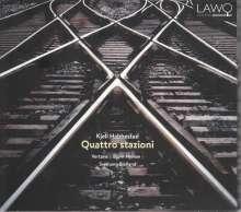 Kjell Habbestad (geb. 1955): Streichquartette Nr.1 & 2, CD