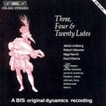 Musik für 3, 4 & 20 Lauten, CD