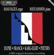 Musik für Orgel & Klavier, CD