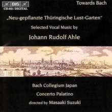 """Johann Rudolf Ahle (1626-1673): """"Neu-gepflanzte Thüringische Lust-Garten"""", CD"""