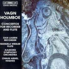 Vagn Holmboe (1909-1996): Flötenkonzerte Nr.1 & 2 (opp.126 & 247), CD