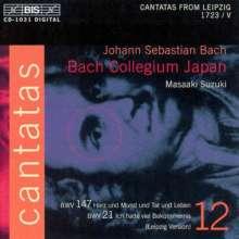 Johann Sebastian Bach (1685-1750): Kantaten Vol.12 (BIS-Edition), CD