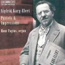 Sigfrid Karg-Elert (1877-1933): Bilder vom Bodensee op.96 f.Orgel, CD