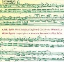 Carl Philipp Emanuel Bach (1714-1788): Sämtliche Cembalokonzerte Vol.12, CD