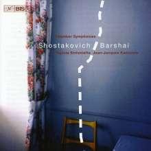 Dmitri Schostakowitsch (1906-1975): Kammersymphonie op.83a, CD