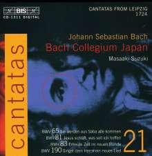 Johann Sebastian Bach (1685-1750): Kantaten Vol.21 (BIS-Edition), CD