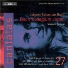Johann Sebastian Bach (1685-1750): Kantaten Vol.27 (BIS-Edition), CD
