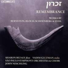 Sao Paulo Symphony Orchestra - Remembrance, CD