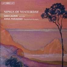 Dan Laurin - Songs of Yesterday, CD