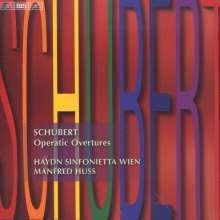 """Franz Schubert (1797-1828): Ouvertüren """"Operatic Overtures"""", CD"""