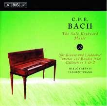 Carl Philipp Emanuel Bach (1714-1788): Für Kenner und Liebhaber (Sammlungen 1 & 2), CD