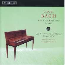 Carl Philipp Emanuel Bach (1714-1788): Für Kenner und Liebhaber (Sammlung 6), CD