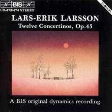 Lars-Erik Larsson (1908-1986): Concertini op.45 Nr.1-12, 2 CDs