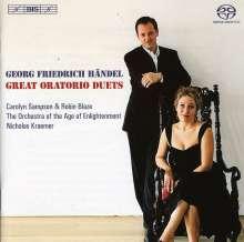 Georg Friedrich Händel (1685-1759): Duette aus Oratorien, Super Audio CD