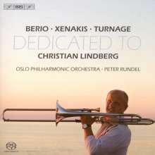 Luciano Berio (1925-2003): Solo für Posaune & Orchester, Super Audio CD